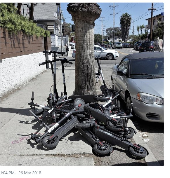 Image result for SF and scooters