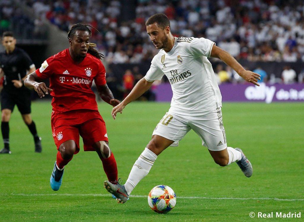 RT @RMadridInfo: Hazard, Mendy, Jović, Kubo, De la Fuente and Javi Hernández made their debuts against Bayern https://t.co/3MEFRzKHzv