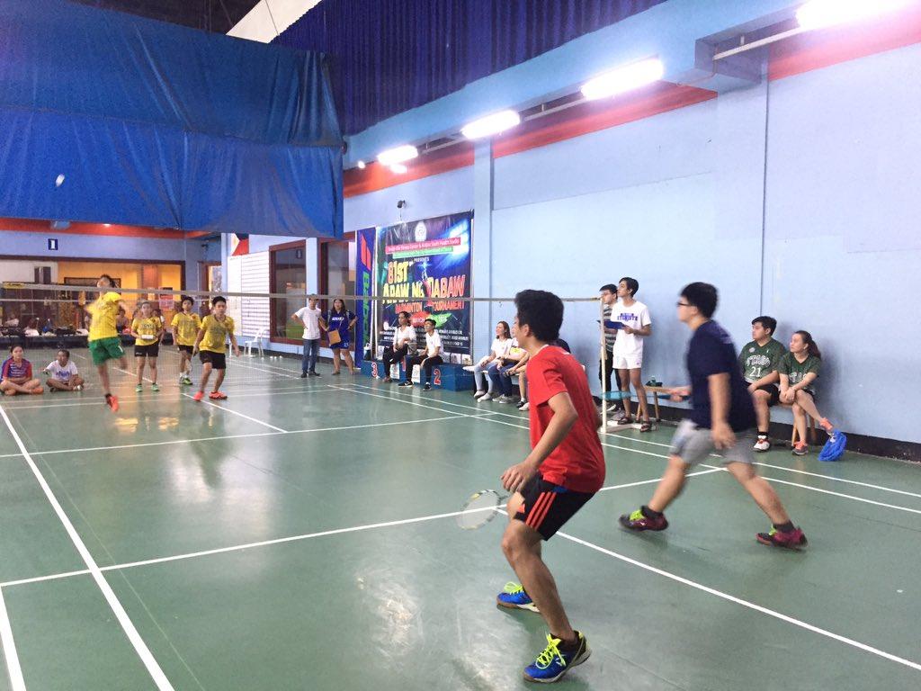 NH   Badminton Men's Doubles Eliminations: ACC VS STAGS #WinTheDream #PalarongAtenista2019