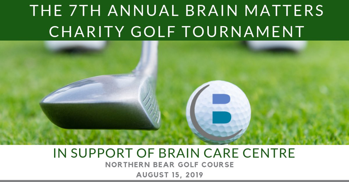 The @BrainCareCentre in #YEG supports people in our community with #BrainInjury. If you haven't registered for their Annual Golf Tournament click on this link!  https://www. eventbrite.ca/e/7th-annual-b rain-matters-charity-golf-tournament-tickets-59330553282  …    @AshleyBrosda @trina_tj @Dr_G_Cummings <br>http://pic.twitter.com/HK7jA6roUz