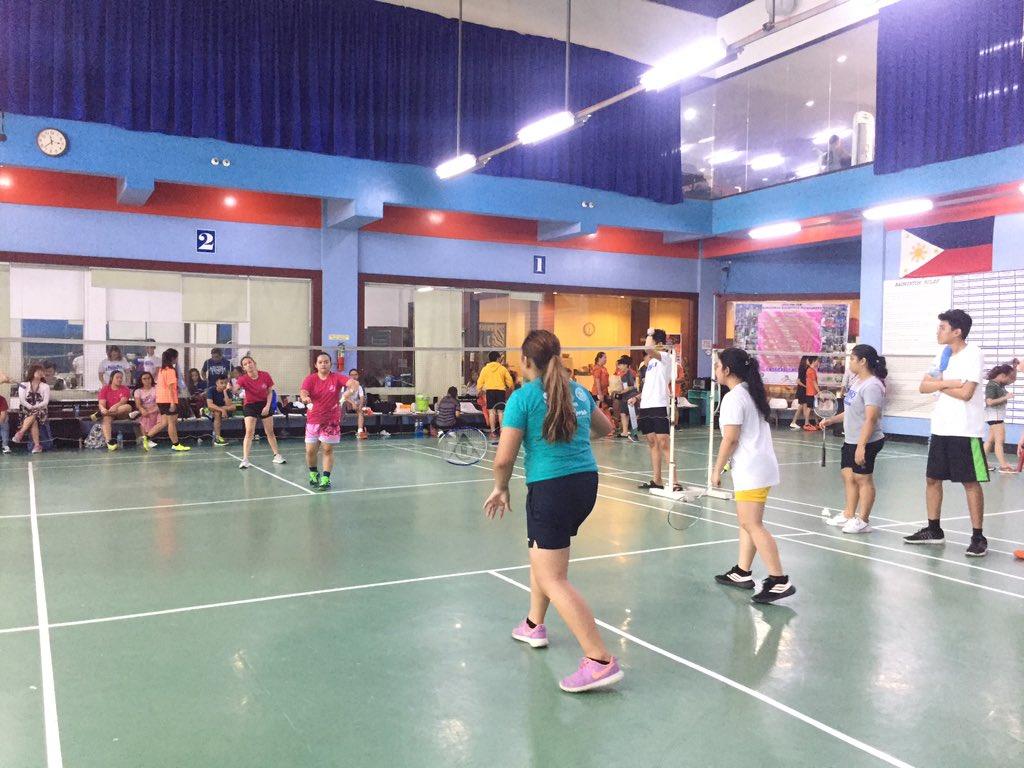NH   Badminton Women'a Doubles Eliminations: SS VS CS #WinTheDream #PalarongAtenista2019