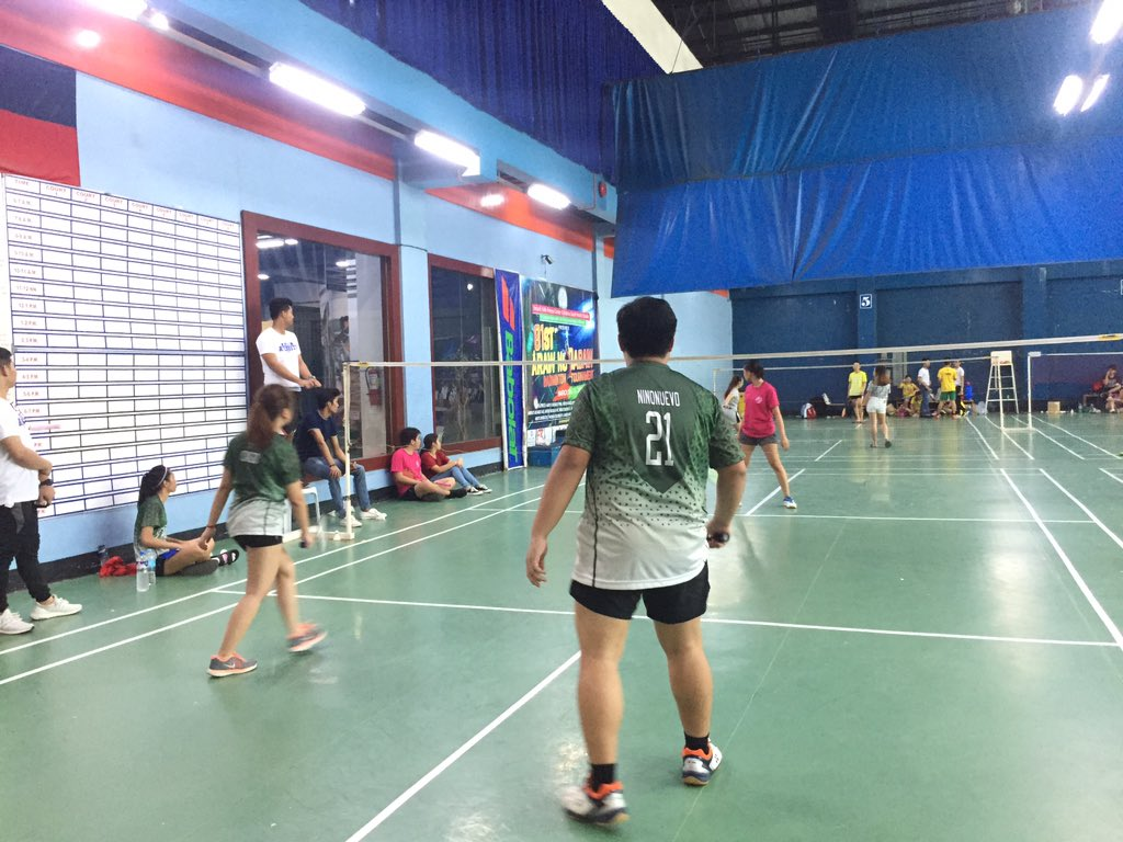 NH   Badminton Mixed Doubles Eliminations: STAGS VS SS #WinTheDream #PalarongAtenista2019