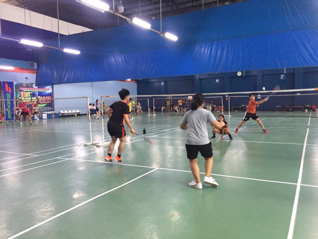 NH   Badminton Mixed Doubles Eliminations: SEA VS CS #WinTheDream #PalarongAtenista2019