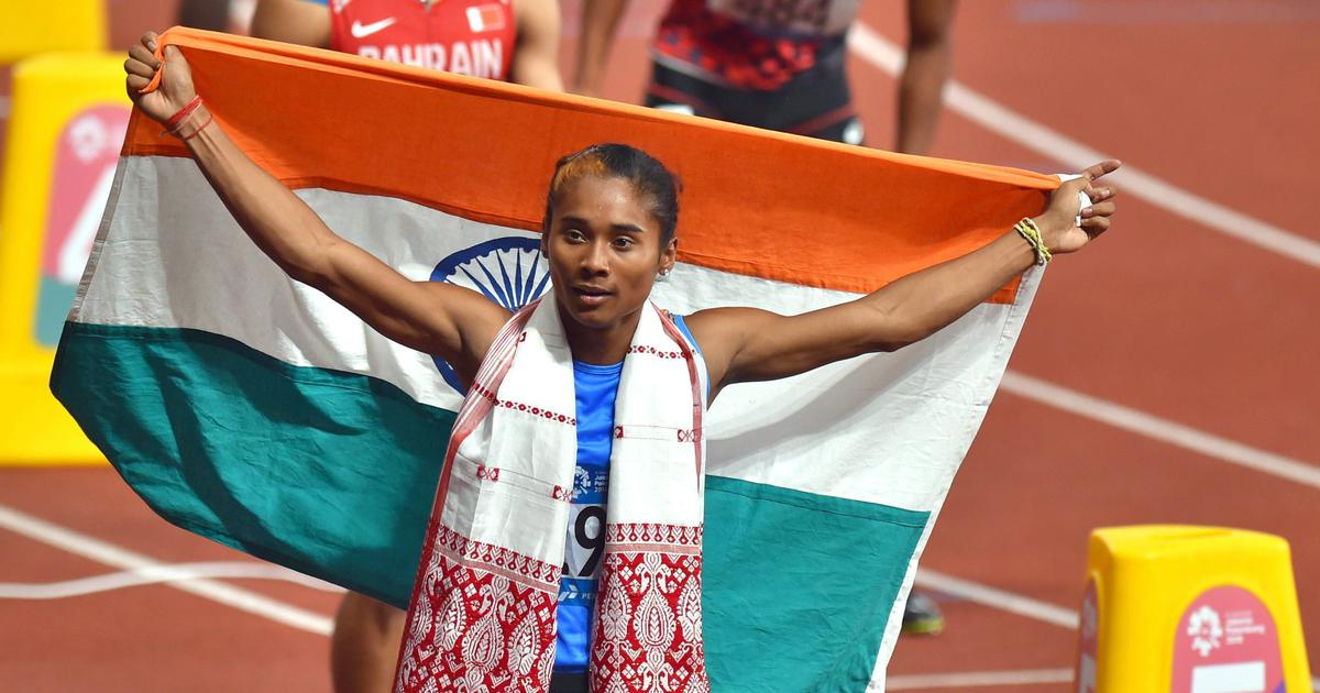 🇮🇳 🥇🥇🥇🥇🥇 5th GOLD in 18 days!! @HimaDas8 wins fifth #Gold 🥇 medal in the 400m race in Prague. CONGRATULATIONS! PROUD OF YOU GOLDEN GIRL!! #HimaDas #Athletics.