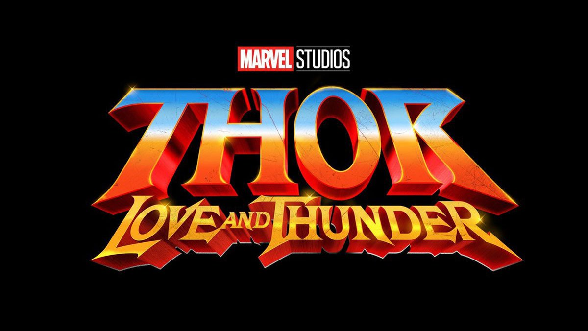 I can't stop saying how much I LOVE the Thor: Love and Thunder logo.   The #SDCC logo reveal was set to Dio's Rainbow in the Dark, which needs to be in the movie too.<br>http://pic.twitter.com/r3AQq2tb8o