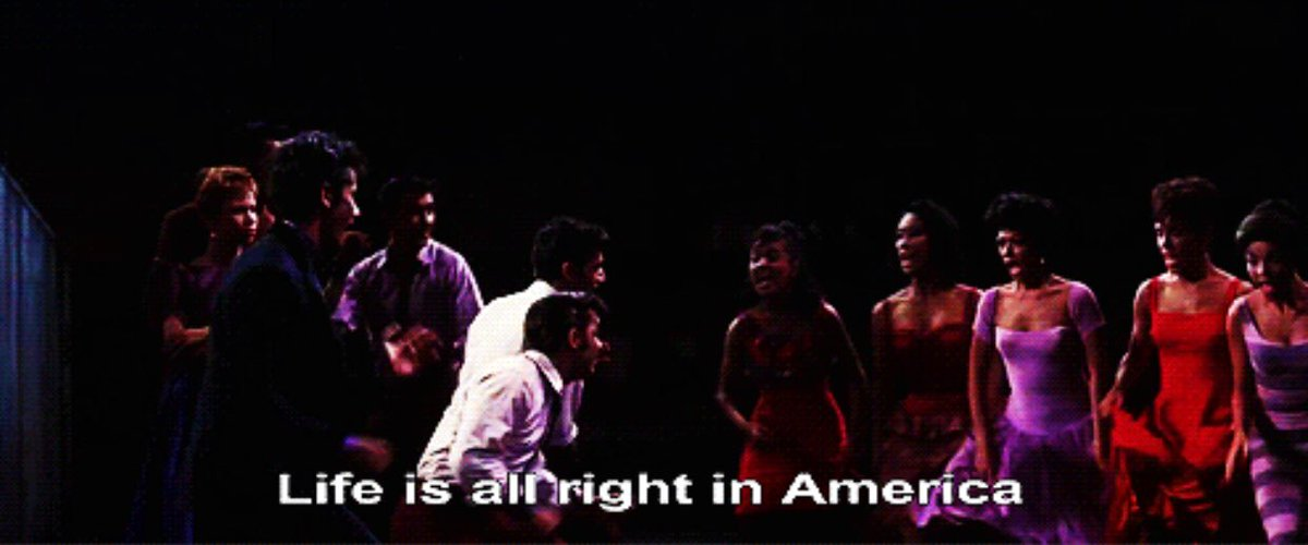 This is a lyric in a MOVIE MUSICAL in 1961 don't even try to tell me this isn't the time for a #WestSideStory remake