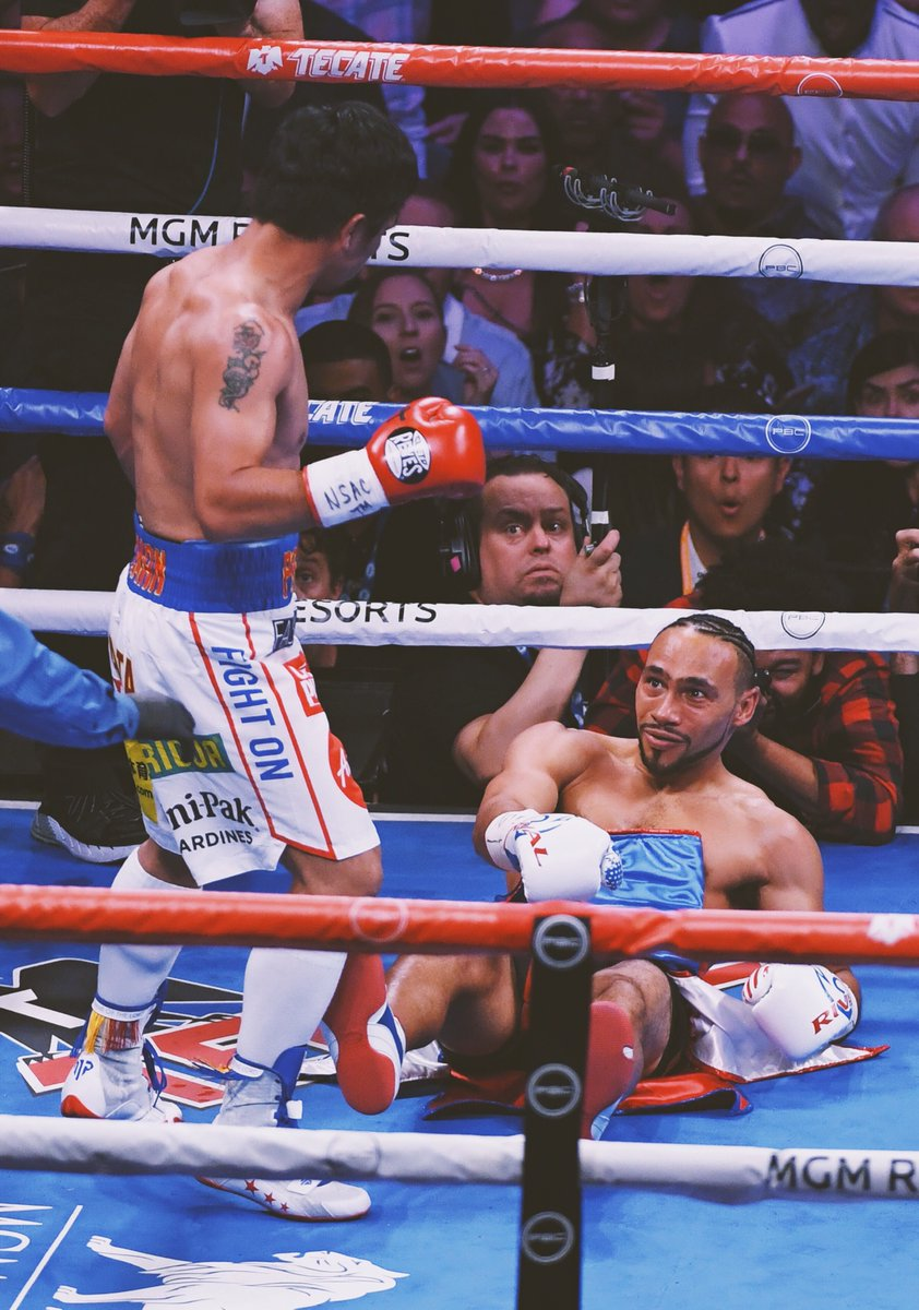 Manny Pacquiao wins the WBA World Welterweight Title at 40 years old and hands Keith Thurman his first pro loss! #PacquiaoThurman