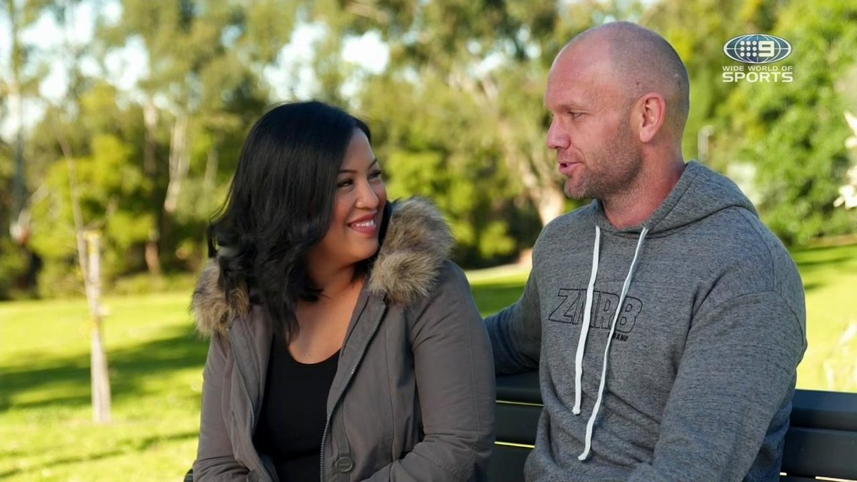 A great little segment on @Gowie_, wife Erika and his rugby league journey. 👏🏼  Check it out if you didn't see it on @NRLonNine yesterday afternoon!