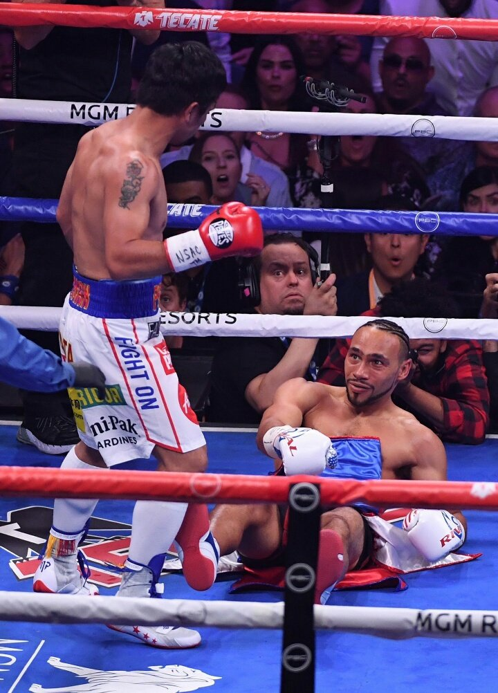 """Why you hit me like that!?"" #PacThurman"