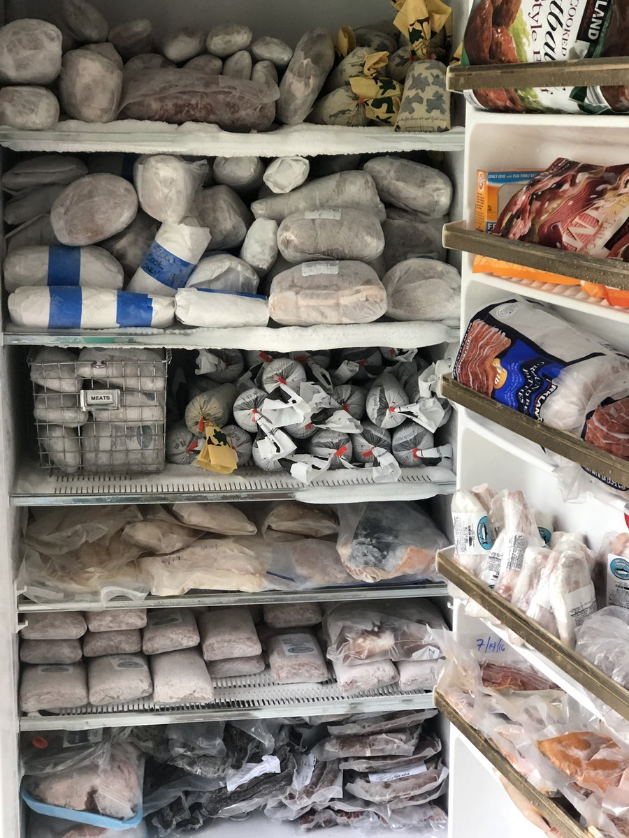 Alaskans, show me your meat lockers! #subsistanceeveryday #costcoforbackup #alaskaliving