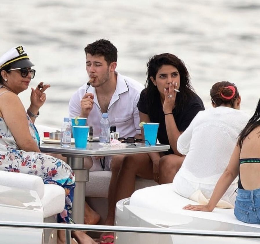 Image result for Priyanka Chopra Smoking In Front of Her mother