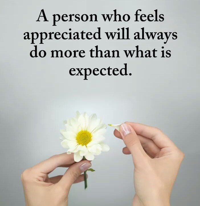 Appreciate a person and he/she will do more than expected. #SundayMotivation on #SundayMorning <br>http://pic.twitter.com/zLS4i6KC6W