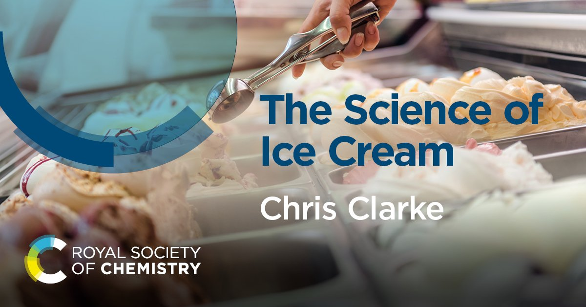 Happy #NationalIceCreamDay #IceCreamDay If you want to spend the day eating and learning then have a look at the Science of Ice Cream: rsc.li/ScienceofIceCr… #RSCBooks It is a fantastic read for your ice cream Sunday 😊 🍨