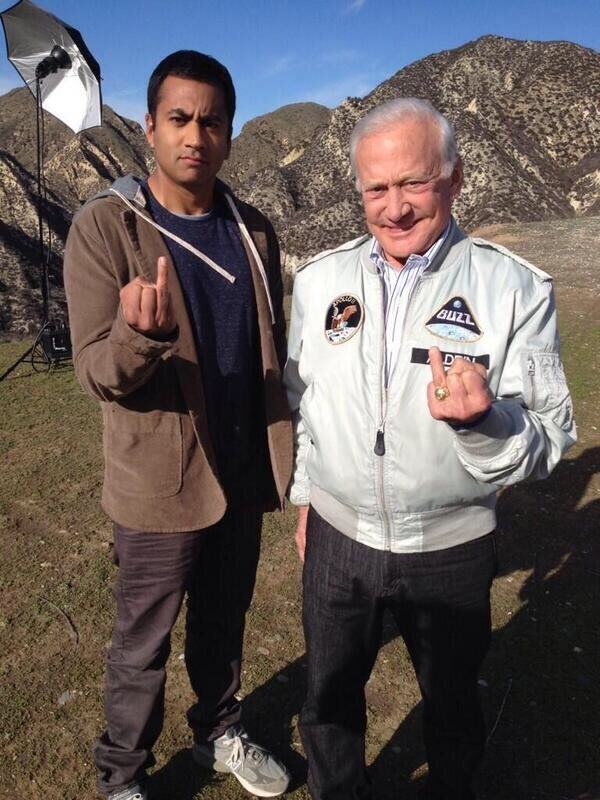 Congrats @TheRealBuzz @NASA on the 50th Anniversary & continuing to inspire all of us. (Bonus points if anyone knows which 1988 comedy this pic vaguely references.) #Apollo50th #Apollo50 #apollo11anniversary <br>http://pic.twitter.com/WvtLCYHmcc