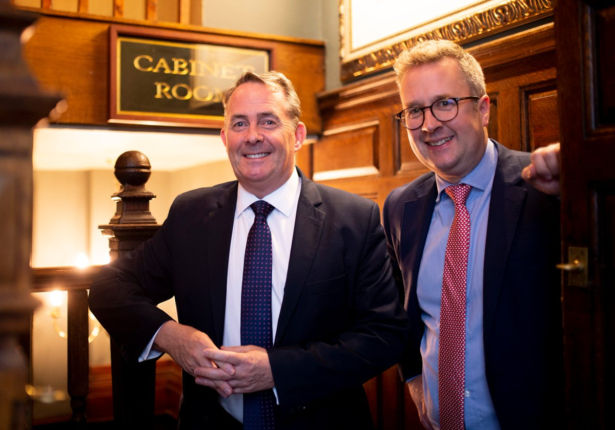 NEW PODCAST🎙️ @Telegraph's @christopherhope talks to @LiamFox, @Jacob_Rees_Mogg and @BrandonLewis When will the govt stop negotiating Brexit and focus on no-deal? Are some Tory members being denied leadership votes? And how does Mr Rees-Mogg feel at 50? playpodca.st/chopper