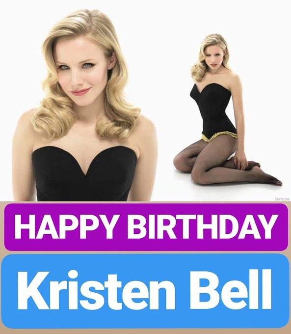 HAPPY BIRTHDAY  Kristen Bell