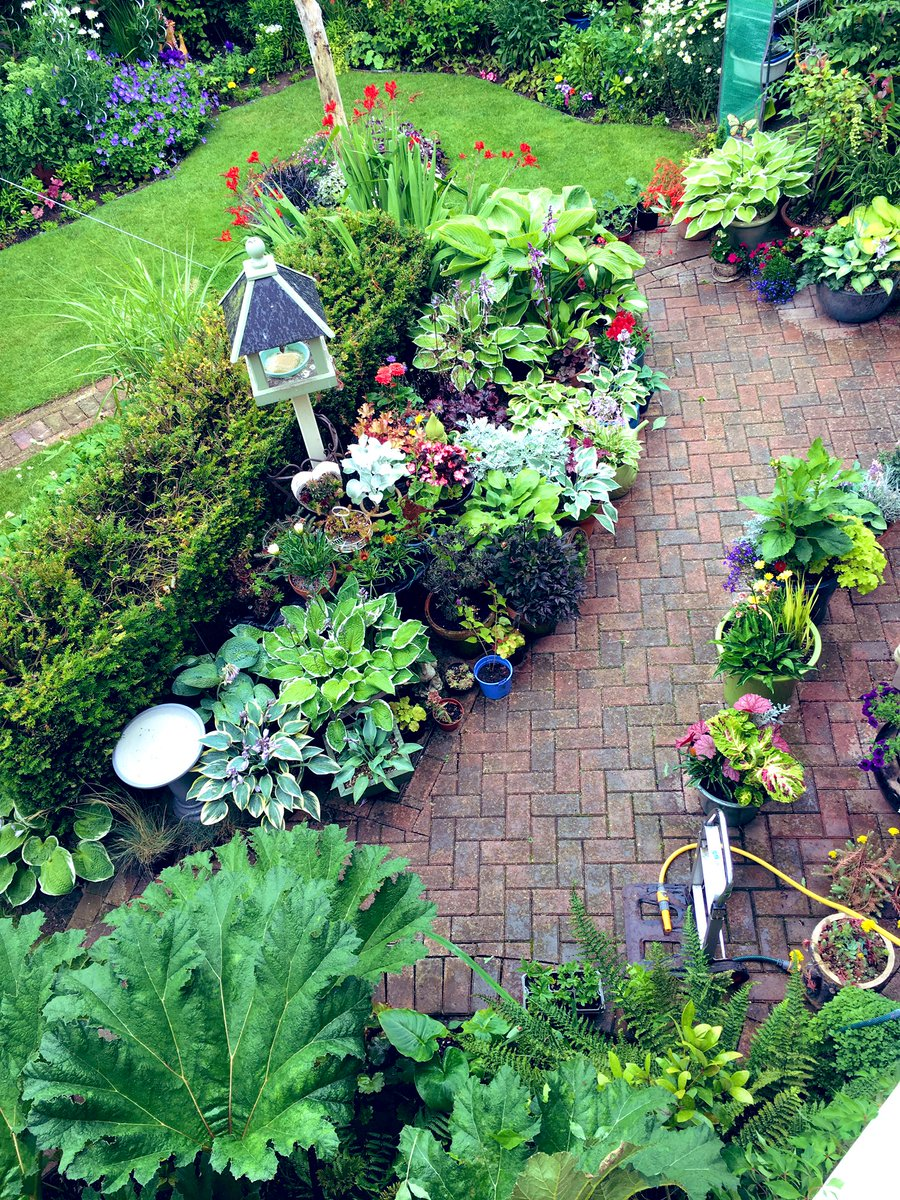 Raining here #Lincolnshire  bird's eye view of my back & front garden  fingers crossed  we get plenty of rain  plenty of jobs in the house  <br>http://pic.twitter.com/5DsjszfHzs