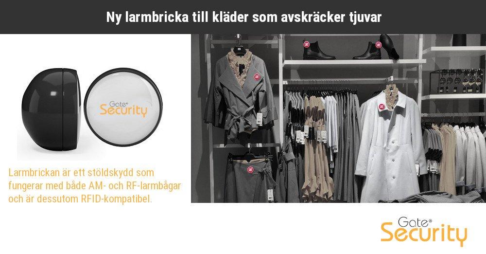 Ny larmbricka till kläder som avskräcker tjuvar https://t.co/GFfP7xKwQR https://t.co/TOZl6WRWep