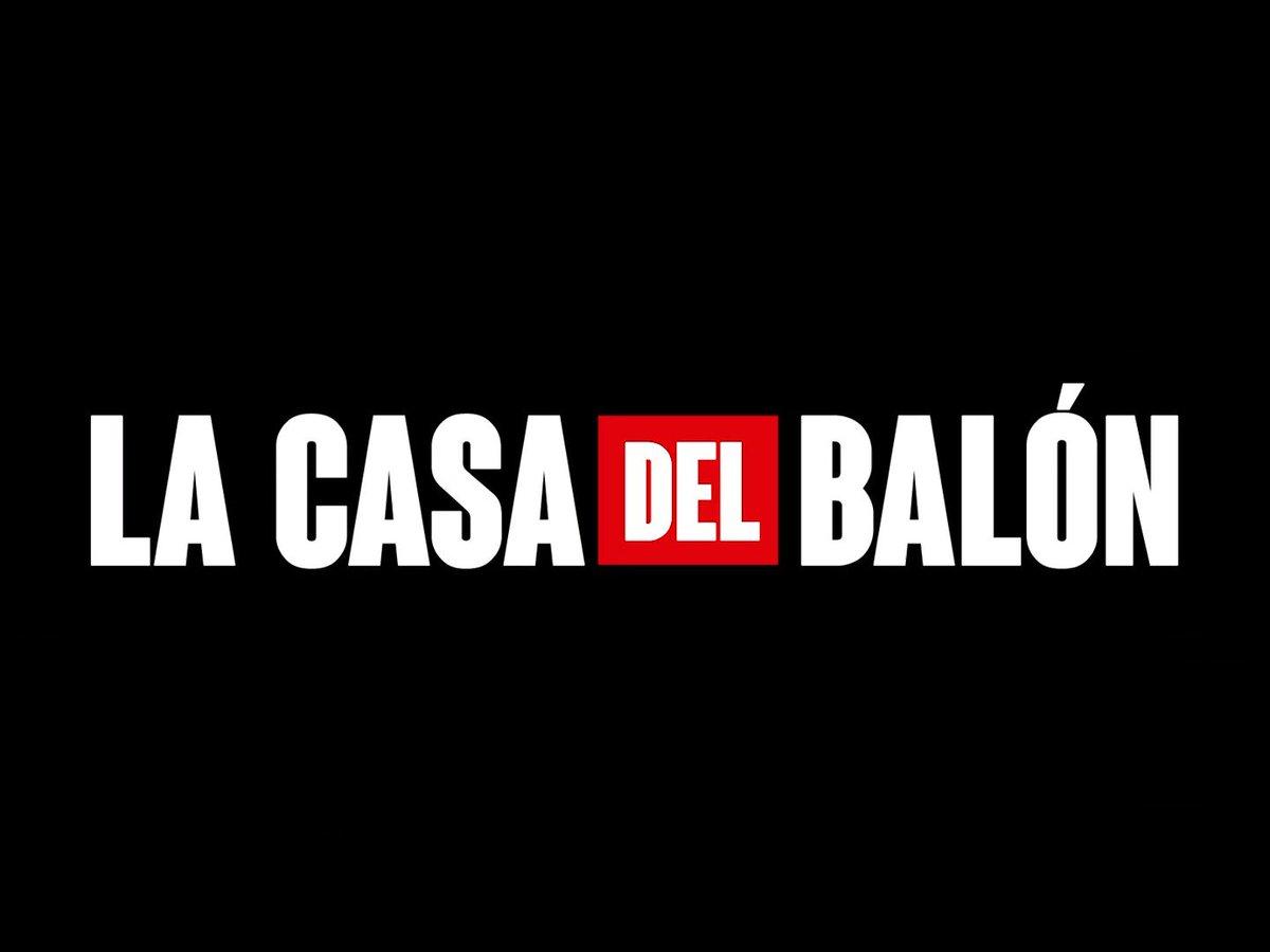 Bienvenidos a La Casa del Balón.  #LaCasaDePapel3 #LCDP3 https://t.co/SHIhokEOzW