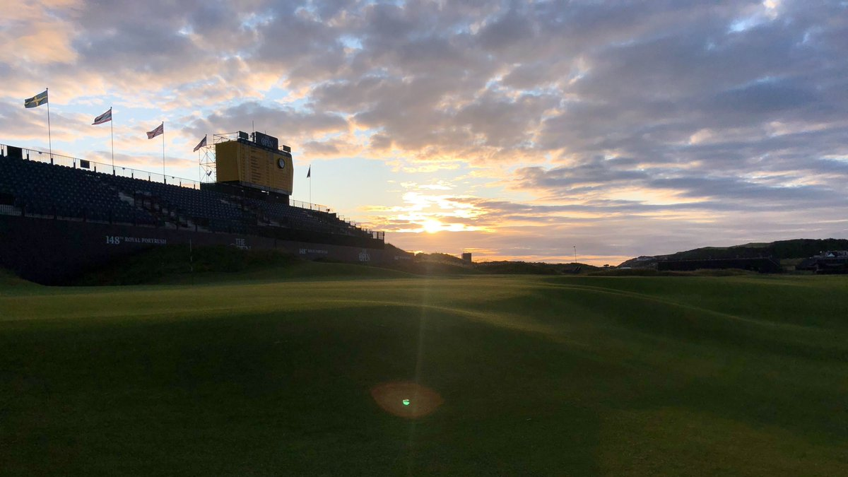 Round 2 is about to begin, with 156 players looking to make it into the weekend at Royal Portrush #TheOpen