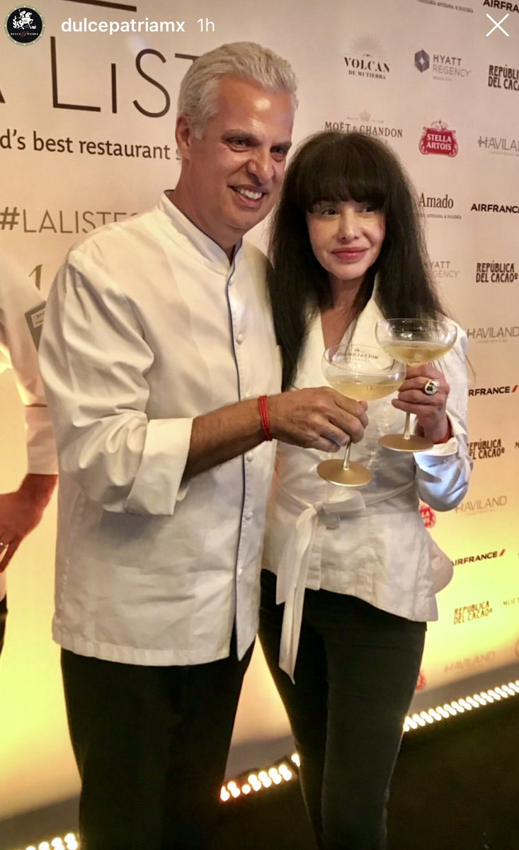 LA LISTE 2019 Mexico Awards Ceremony     Now in Mexico  Simply Amazing to see these two world's TOP chefs together!  Chef @lamarthaortiz at @dulcepatriamx , Mexico's #1 & Chef @ericripert at @lebernardinny , the World's #1 by #laliste2019 !!! <br>http://pic.twitter.com/eprcVr4bPy
