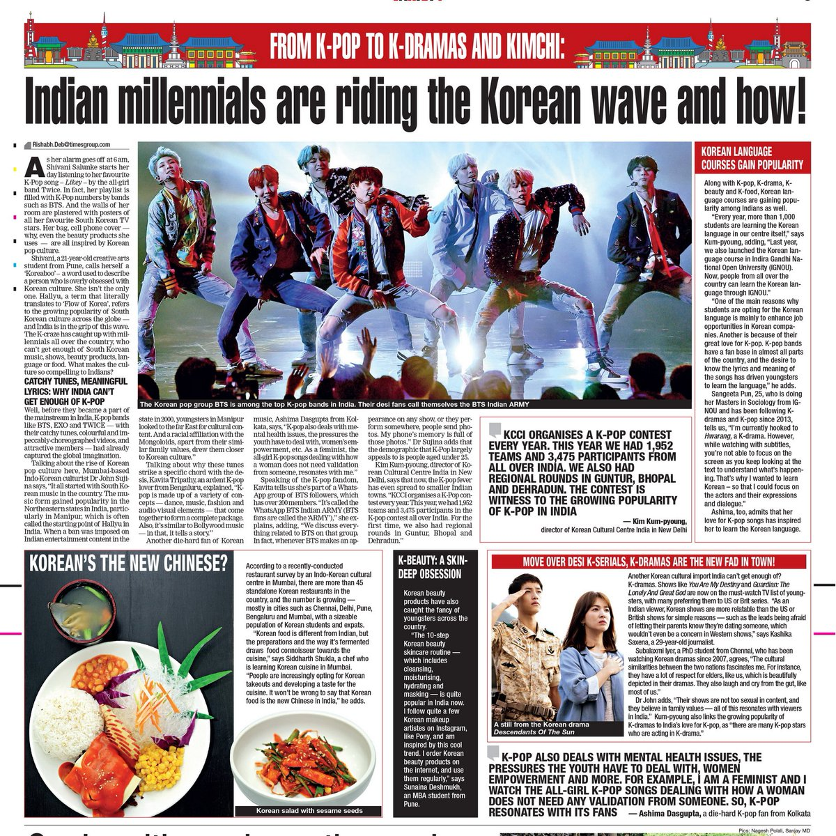 Indian millennials are riding the Korean wave and how
