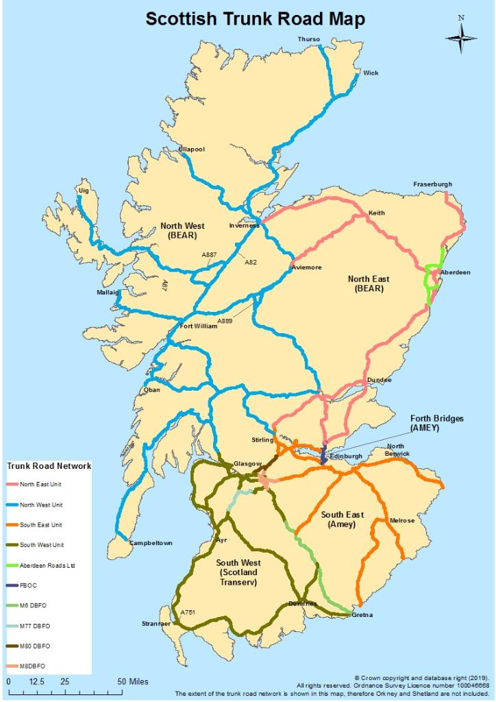 test Twitter Media - 🔍 Remember ⚠  We look after the Trunk Road Network 🐘 ALL other roads are maintained by the council  See map attached for Trunk Roads 👍 https://t.co/YfEA7MICwg