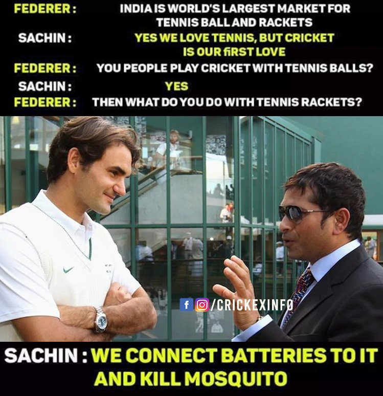 Roger and Sachin Discussion 😍😍#Sachin #RogerFederer
