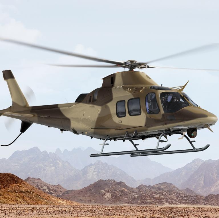#DYK #Leonardos #AW109TrekkerM is the newest multipurpose light twin-engine helicopter designed to provide military operators with outstanding mission flexibility, high performance and speed, enabling operations in the most challenging environments lnrdo.co/2LrTJxd