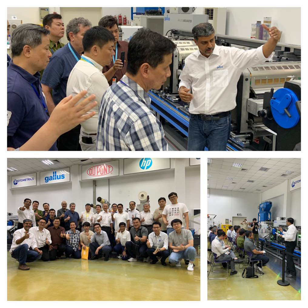 The yesterday's Asia Pacific Gallus Label Day @ Avery Dennison in Kunshan has been a successful event with fervent participation with delegates from Thailand, Singapore, Malaysia, Indonesia, Vietnam and Korea.https://bit.ly/2J70aVn#gallus @labelmaster