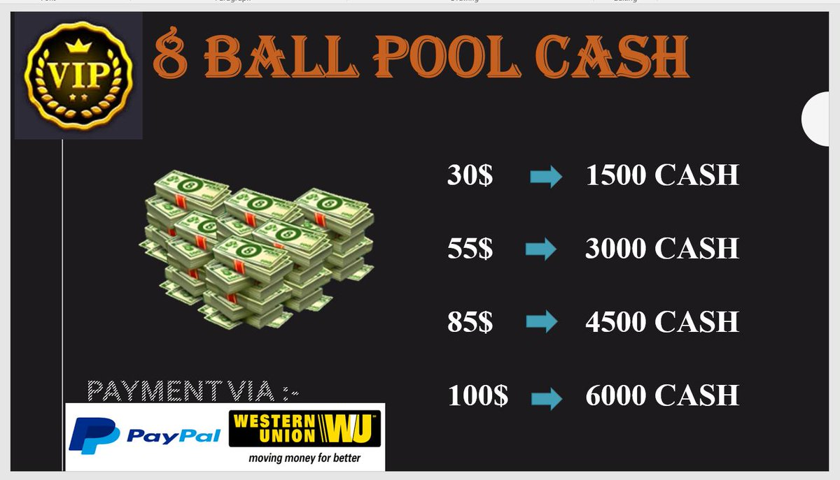 8 BALL POOL (@8ballpoolshops) | Twitter