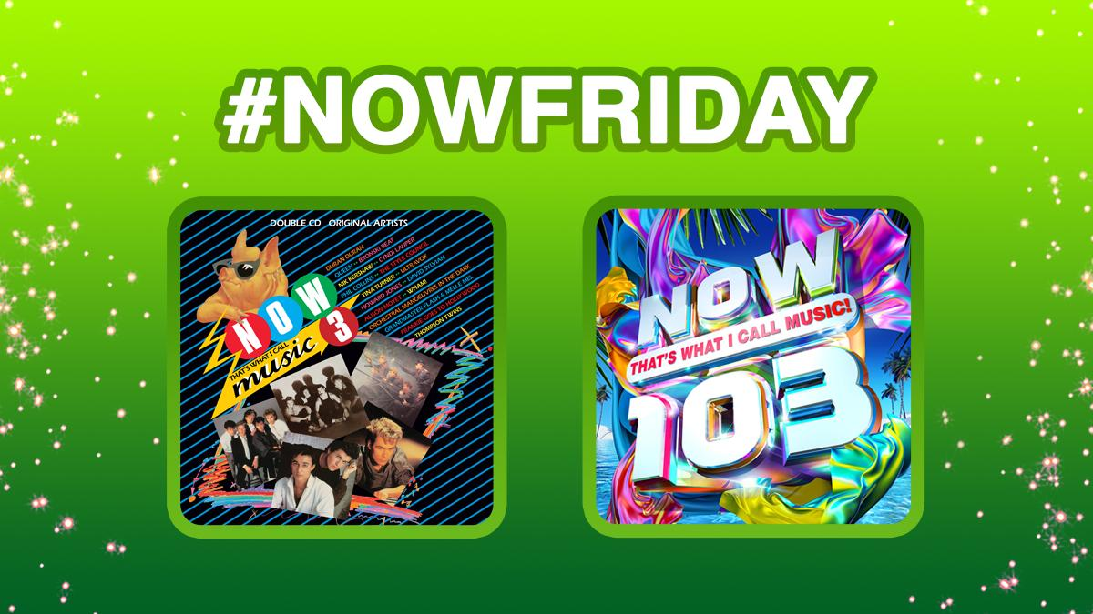 It's #NOWFriday!   For your chance to win these 2 albums & 6 months subscription to the NOW Music App simply RT & Follow! #win #competition 🤑🎁   T&C's: http://nowmusic.com/twitter-terms