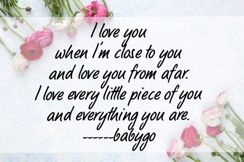"""Pratosh, it's wonderful to see this from you. I love this #poetry from @BabyGo2014, so true for you #PreciousPratosh & dear Friends.🤗💝💛🙏 """"I love u when I'm close to u & love u from afar. I love every little piece of u & everything u are."""" #BabyGo #ff #follow #GoldenHearts"""