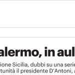 Image for the Tweet beginning: Il Tribunale di #Palermo rinuncia