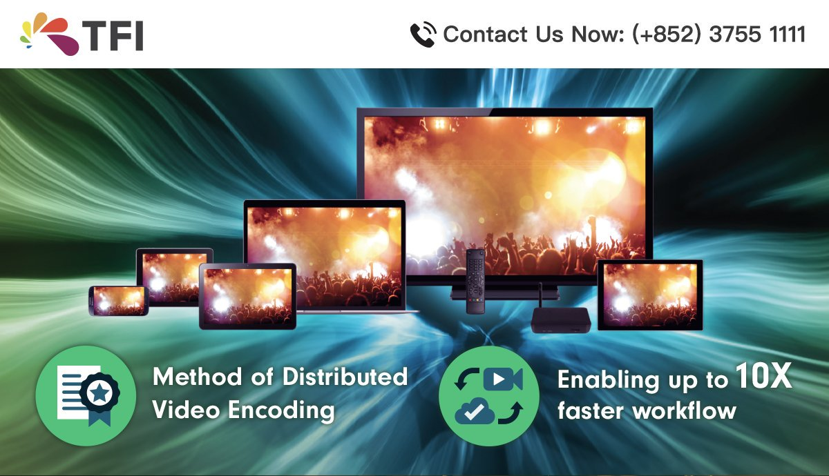 "Our first patent titled ""Method for distributed video transcoding"" is issued in China!   Are you looking for a fast, high-quality and flexible encoding solution? Call us now to learn more!   To know more: https://t.co/PVN12pJIO2  #tfidm #live #HERMESLive #SwiftEncoder #videotech https://t.co/YxijqgKI7e"