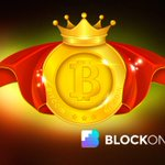 Image for the Tweet beginning: King Crypto: Bitcoin Price Pops