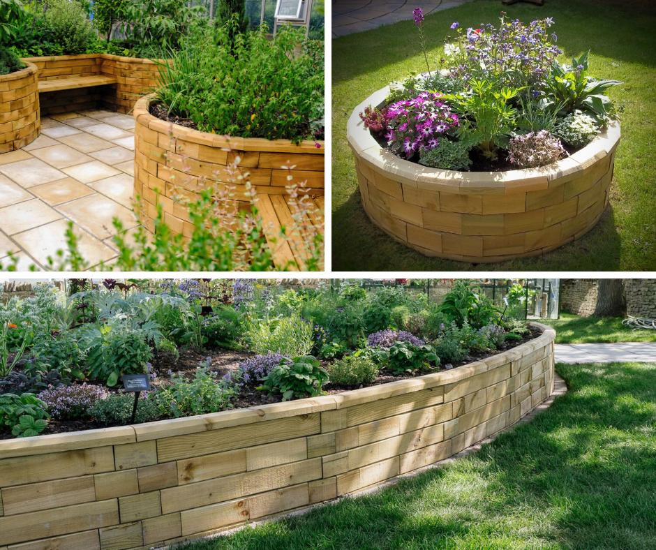 Woodblocx On Twitter Follow The Contours Of Your Garden Using