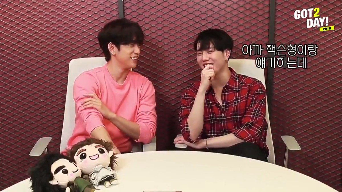 [GOT2DAY 2019] 05. Jinyoung & Yugyeom on YouTube (w/SUB) https://youtu.be/8fNTil2pM7k   #GOT7 #갓세븐 #Jinyoung #진영 #Yugyeom #유겸 #GOT7_SPINNINGTOP #GOT7_BETWEEN_SECURITY_AND_INSECURITY #GOT7_ECLIPSE #GOT7WORLDTOUR #GOT7_KEEPSPINNING