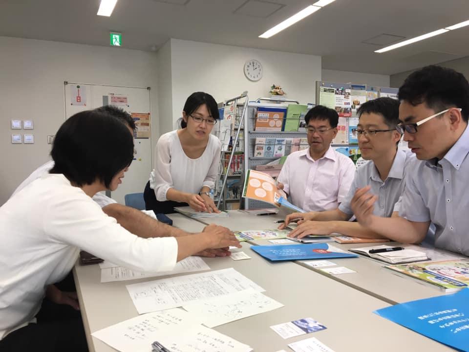 本日、中国浙江省のチョウさんが当センターに来訪されました。日本と中国でのNPO活動の違いなど、興味深いお話を交わさせていただきました #npo #fnc #shizuoka