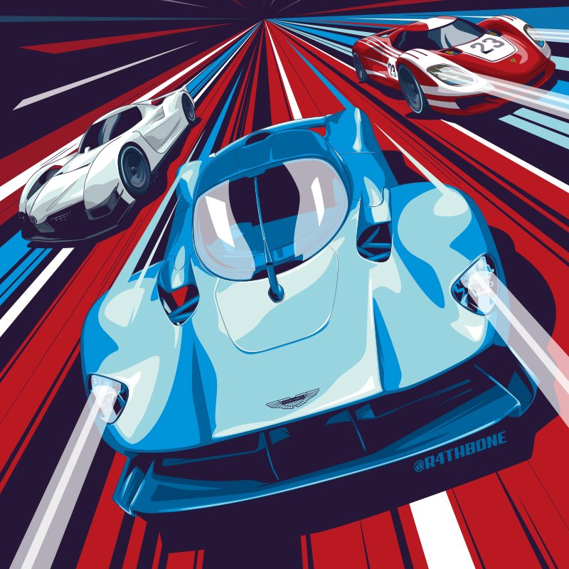 Here's my second #illustration I was commissioned to create for this months @CARmagazine. So happy with how this one turned out - one of my favourite illustrations I've done this year!  #Motorsport #MadeInAffinity #Illustrator #VectorArt #DigitalArt #Editorial #Magazine #HyperCar<br>http://pic.twitter.com/ZxJXwycmzB