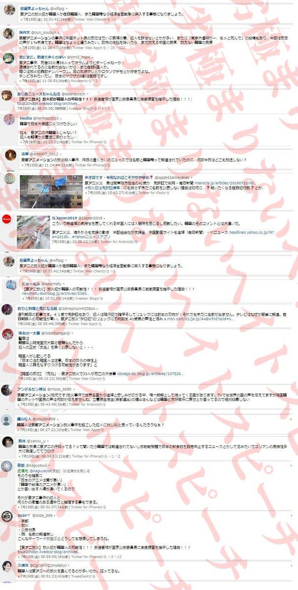 韓国 犯人 京都 アニメーション