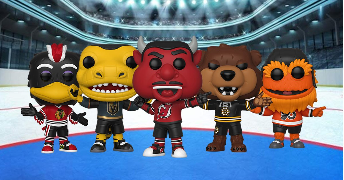 pretty nice 825e4 b672b 5 new NHL Mascots Funko Pop!s have just landed at Pop In A ...