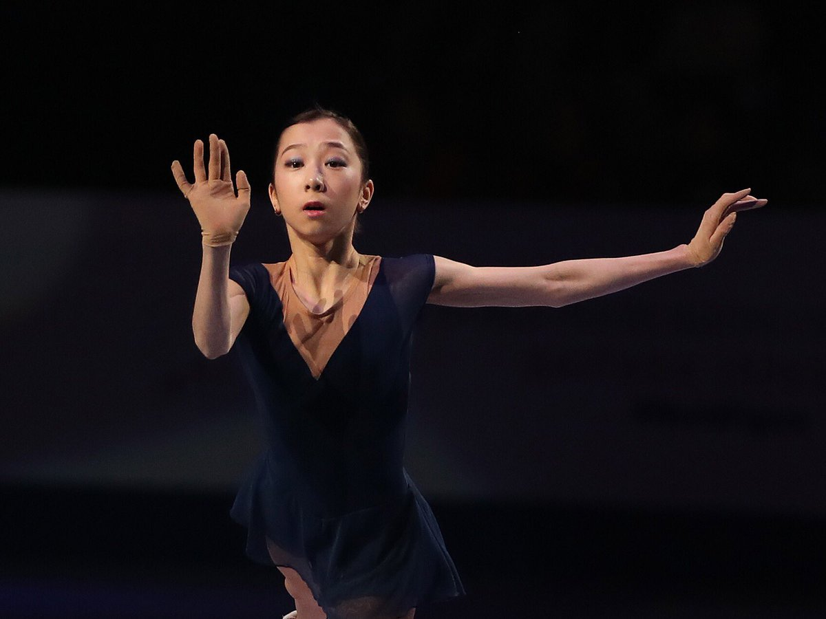 A poignant moment at this year's #WorldFigure Skating Championships was Elizabet Tursynbaeva's tribute performance to Denis Ten. His death last year was a huge loss to his family, friends & the worldwide skating community, but his legacy to the sport lives on.  <br>http://pic.twitter.com/ufbdaQQ7AJ