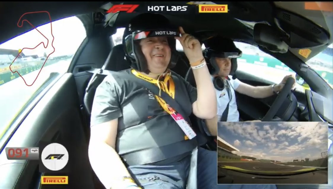 😅 Wait until you see my onboard from #F1PirelliHotLaps 😂🔥