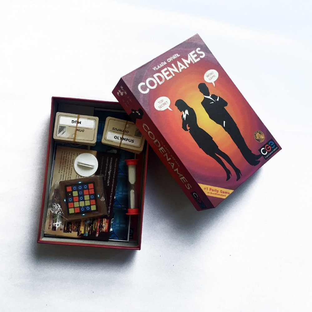 #brothers #related Codenames Board Game