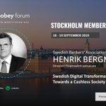 Image for the Tweet beginning: Join us in Stockholm Member