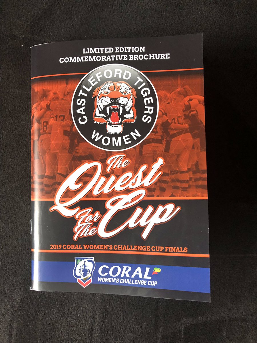 This limited edition commemorative brochure will be on sale at Sunday's game   Huge thanks to Paul Hampton, Jo Hetherington and Brian from Signs and Designs for putting it together!   #COYF<br>http://pic.twitter.com/XG1UhQ2BP6