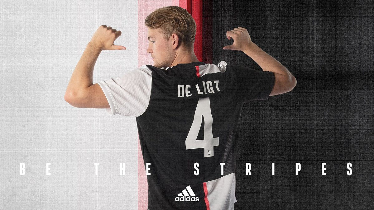 A new story begins. Matthijs de Ligt: @juventusfc new number 4️⃣. #DareToCreate