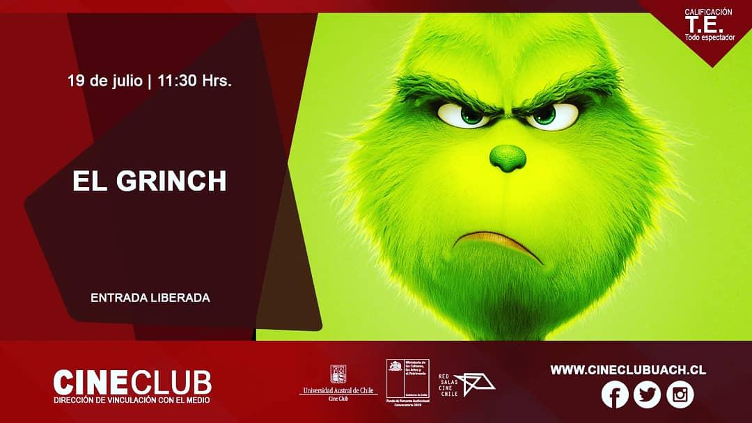 Imagenes De Grinch De Buenos Dias.Cine Club Uach S Tweet Buenos Dias Hoy Dos Funciones De