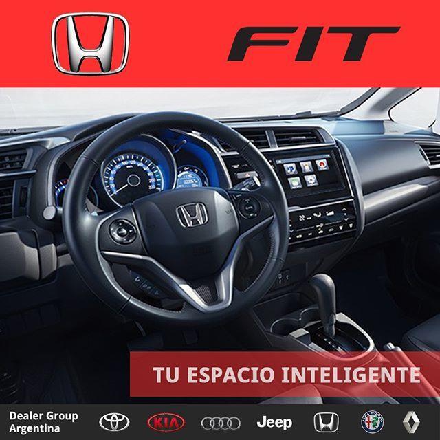🚙 #Honda #Fit 🤩 #TuEspacioInteligente Contactate con nosotros y averigua sobre éste y otros modelos de la marca entrando aquí ➡️ https://bit.ly/2JNnKV4 Te estamos esperando! https://dealergroup.net #DealerGroup #Argentina #HondaFit #ThePowerOfDreams #0km